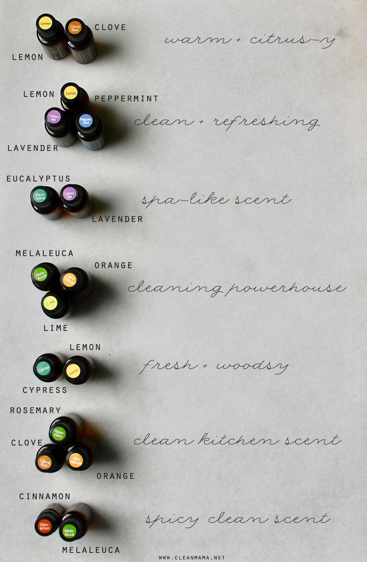 Essential Oil Combinations for the Home - Clean Mama                                                                                                                                                                                 More