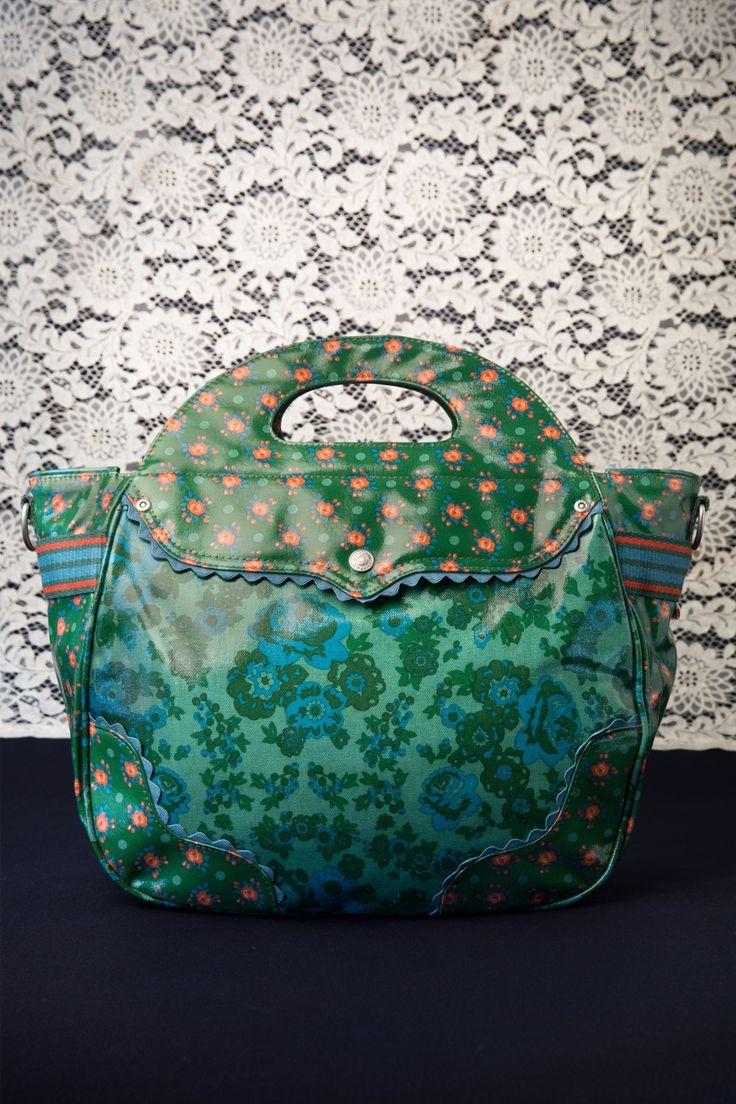 Blutsgeschwister - 50s Vintage Green Voyage Dramage Bag