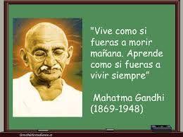 #reflexiones #Ghandi