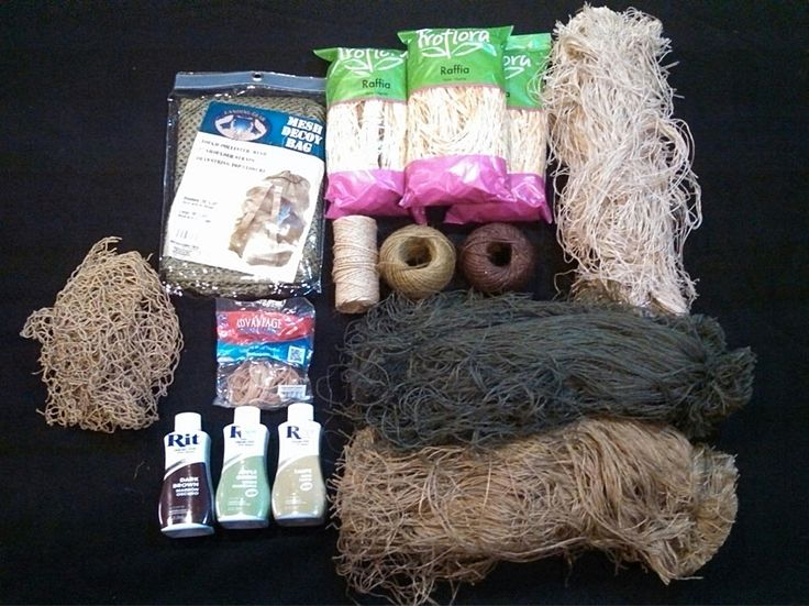 DIY Ghillie Suit Supplies! Learn to build your own Ghillie Suit for $75! #Tactical