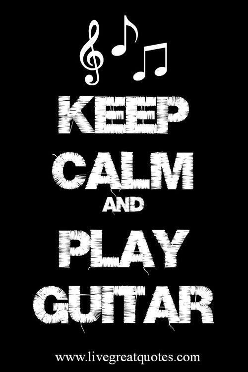 I love playing my guitar well the three cords I know