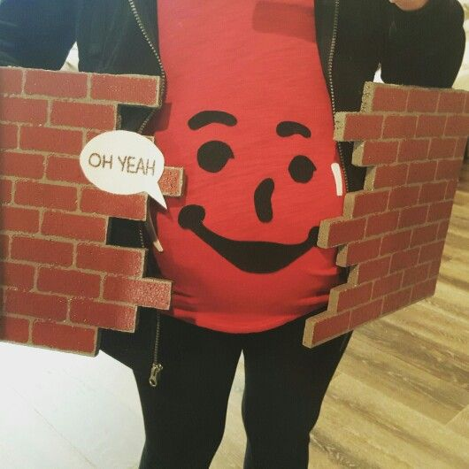My pregnant Halloween costume!
