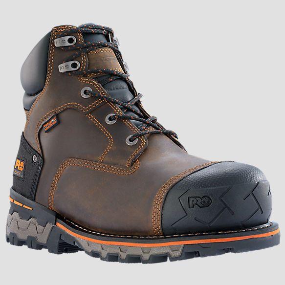 "Timberland Pro Series Boondock Waterproof 6"" Size 8 #Waterproof #WorkSafety"