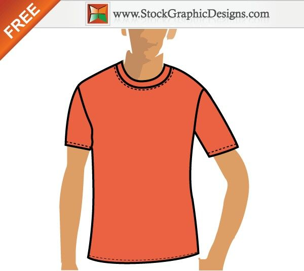 Best Vector TShirt Templates Images On   Shirt