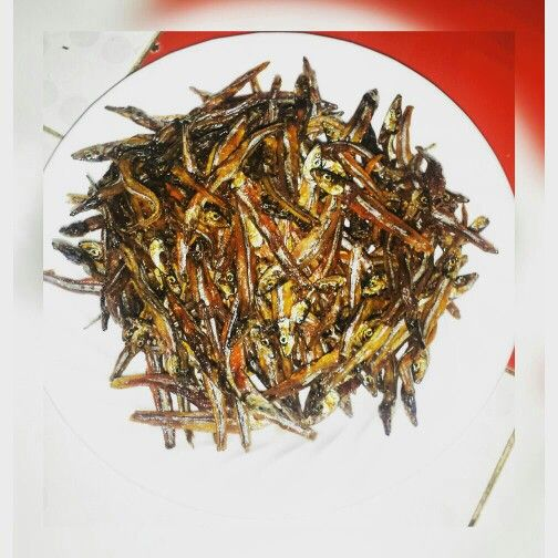 Spicy Anchovy (dilis)