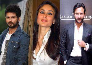"""""""Kareena Cleverly Cheated On Me: Sahid Kapoor"""""""