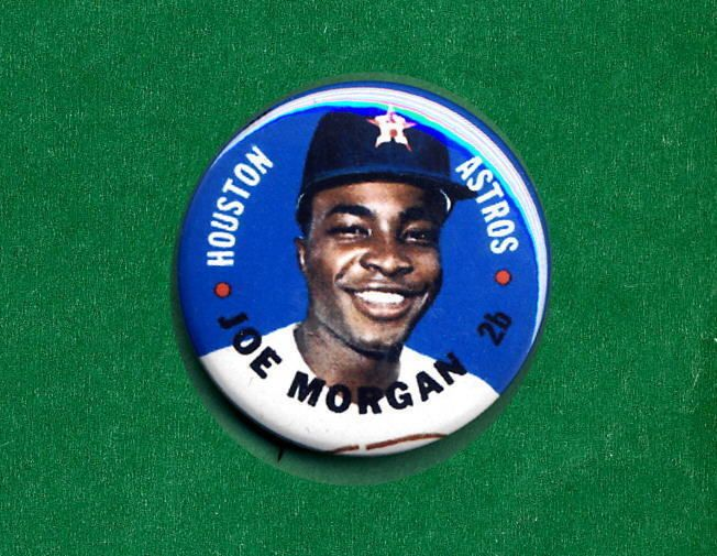 1967 Baseball Test DISC RP **PIN** Joe MORGAN Astros Houston