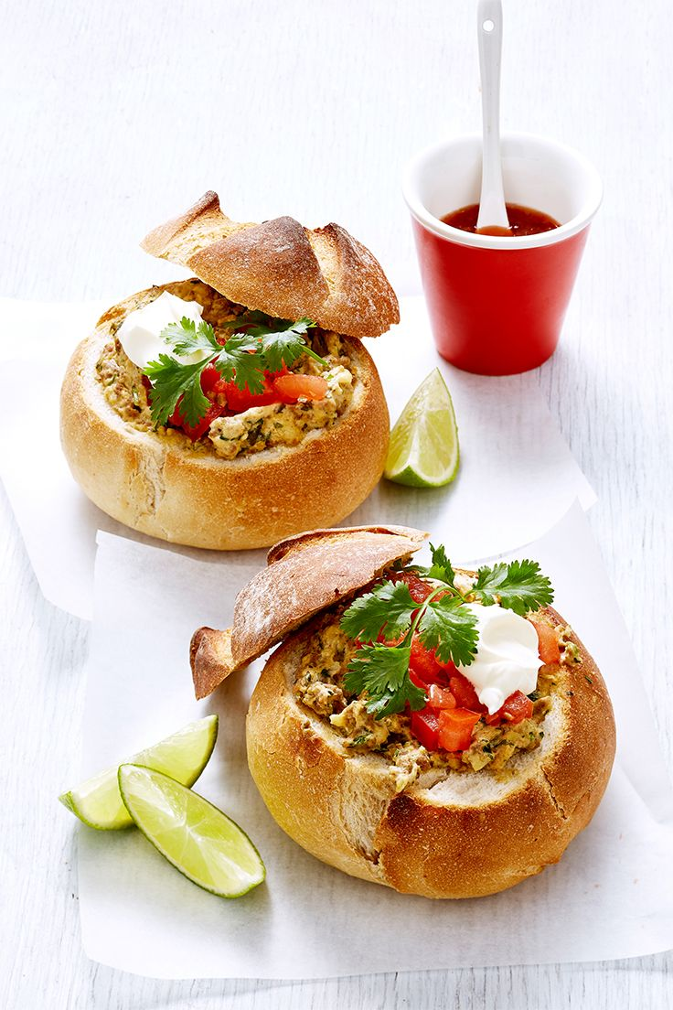 Always a hit at any party, a classic cob loaf is never out of fashion and this moreish Mexican-inspired recipe means you can indulge without sharing - yum!