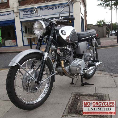 1963 HONDA CB72 Classic Bike for sale | Motorcycles Unlimited