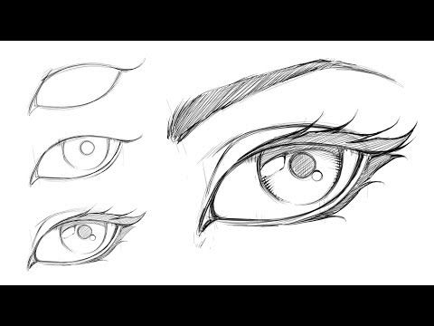 How To Draw A Comic Style Female Eye Step By Step Youtube Comic Drawing Cartoon Drawings Drawing Cartoon Characters