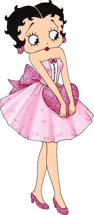 BETTY BOOP PRETTY IN PINK!
