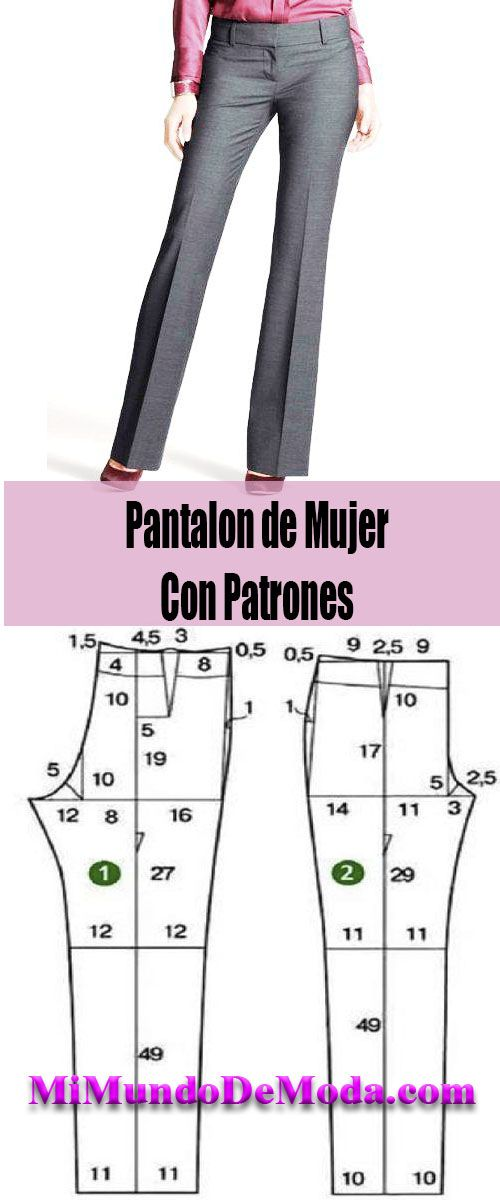 Pantalones con patrones