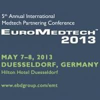 EuroMedtech 2013 - Annual Medical Technology Conference