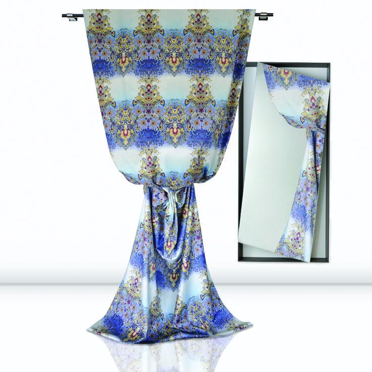 Bella Addormentata: printed firproof velvet www.castellodelbarro.com