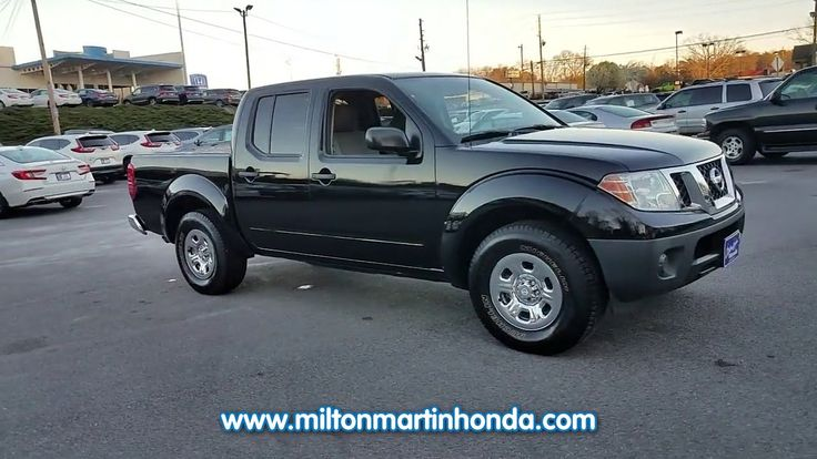 USED 2012 NISSAN FRONTIER 2WD CREW CAB SWB AUTO S at Milton Martin Honda  #35113B