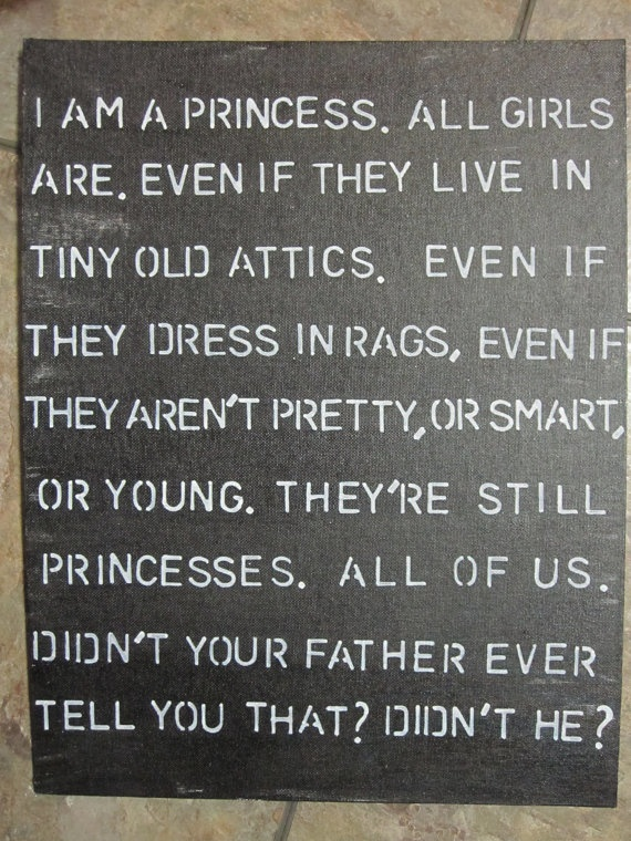 : Rose Foulston, Little Girls, Future Daughter, Favorite Movies, A Little Princess, Favorite Book, Princess Quote, Princesses Quote