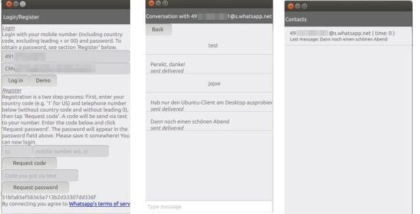 Coloro che hanno provato Ubuntu for Phone sul proprio smartphone, sentiranno indubbiamente la mancanza della miriade di applicazioni presenti su Andriud, tra cui Whatsapp. Qualche sviluppatore tuttavia è già al lavoro, ed è disponibile al download una prima versione alpha di WhosThere, client Whatsapp compatibile con qualsiasi altra distro Linux.