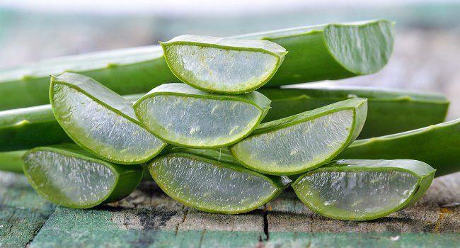 remedio natural con aloe vera en gel