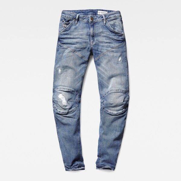 G-Star Raw 5620 3d Low Boyfriend Jeans ($200) ❤ liked on Polyvore featuring jeans, low waist jeans, g star raw jeans, biker jeans, boyfriend jeans and white biker jeans