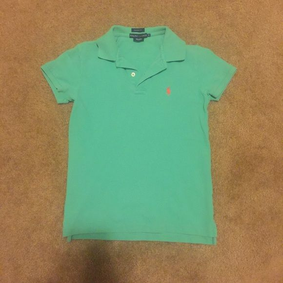 BOGO FREE POLO SALE! Green Ralph Lauren polo BOGO FREE POLO SALE! Buy any Ralph Lauren Polo item in my closet, and get 1 (of equal or lesser value) FREE!! Please comment for each item and I will create a custom listing for you! My bundling discount is NOT available for this item unless you are bundling with an item that is not the RL brand!* Love this color!!! EUC! No stains or holes. Size is XS in a classic fit, so this could fit a size S as well! Ralph Lauren Tops