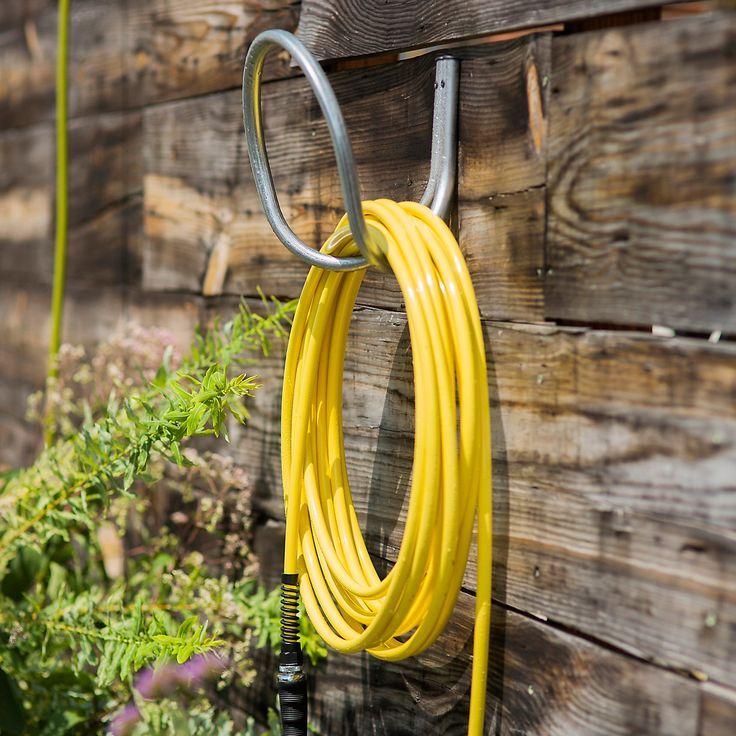 Galvanized Utility & Garden Hose Hanger | Terrain
