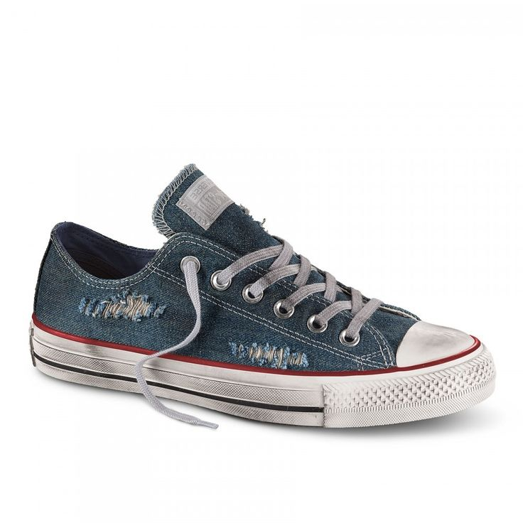 Sneaker converse All star 156743c ctas blue ash grey white limited edition estiva unisex spring summer 2017