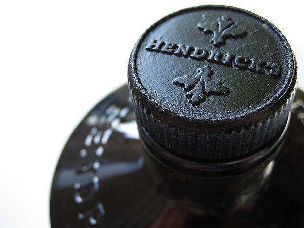 Hendrick's Gin - Lid