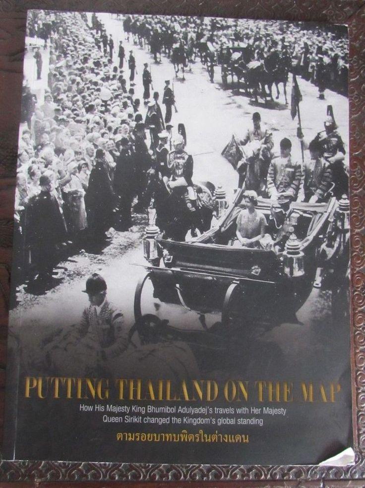 Putting Thailand on the map magazine King Bhumibol Adulyadej´s travels