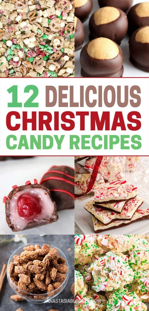 12 best christmas candy recipes easy homemade christmas candies cookies pinterest recipes candy recipes and desserts