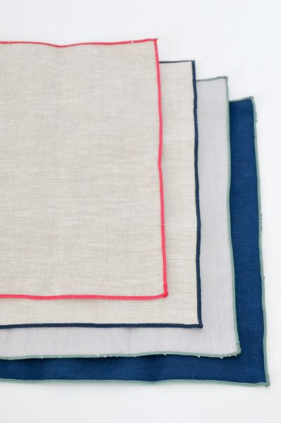 Handmade linen napkins