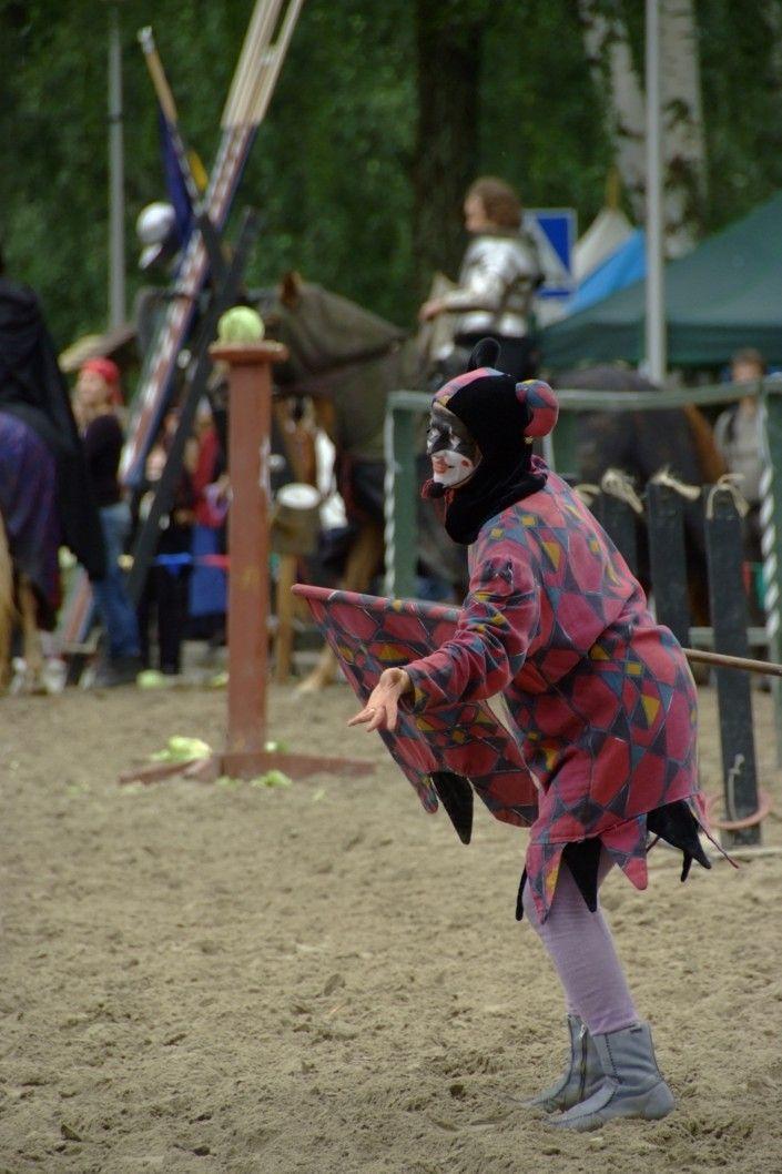 Hämeen keskiaikamarkkinat - Häme Medieval Faire 2008, Narri - Jester, © Timo Martola