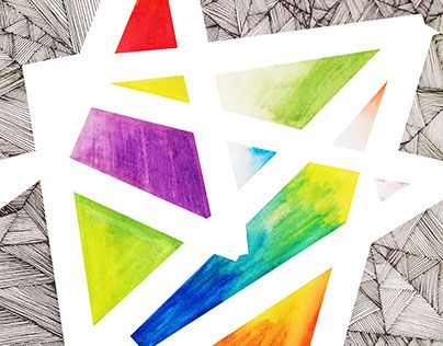 "Check out new work on my @Behance portfolio: ""Geometric Colors"" http://on.be.net/1E3pyDx"