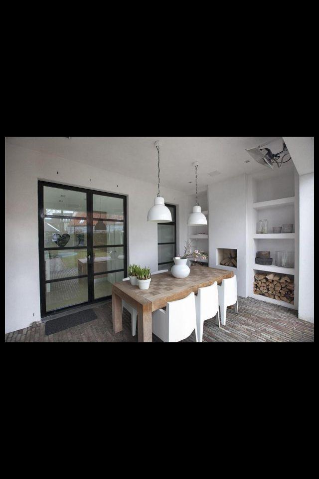 25 beste idee n over buiten eethoek op pinterest uitgaansgebied buiten entertainment gebied - Moderne woning buiten lay outs ...