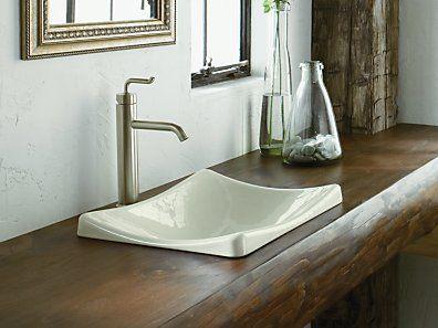 Kohler K 2833 K4 Demilav Wading Pool Bathroom Sink
