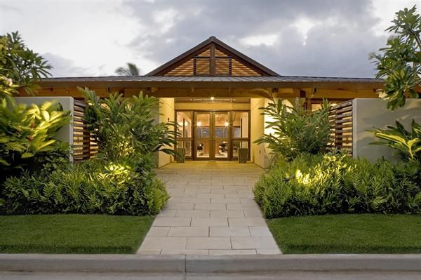 Hawaii Tropical House Plans Hawaiian Style House Plans