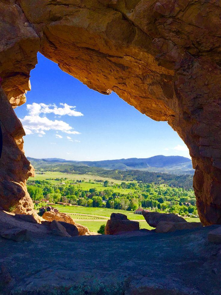 Devils backbone hike in Loveland Colorado