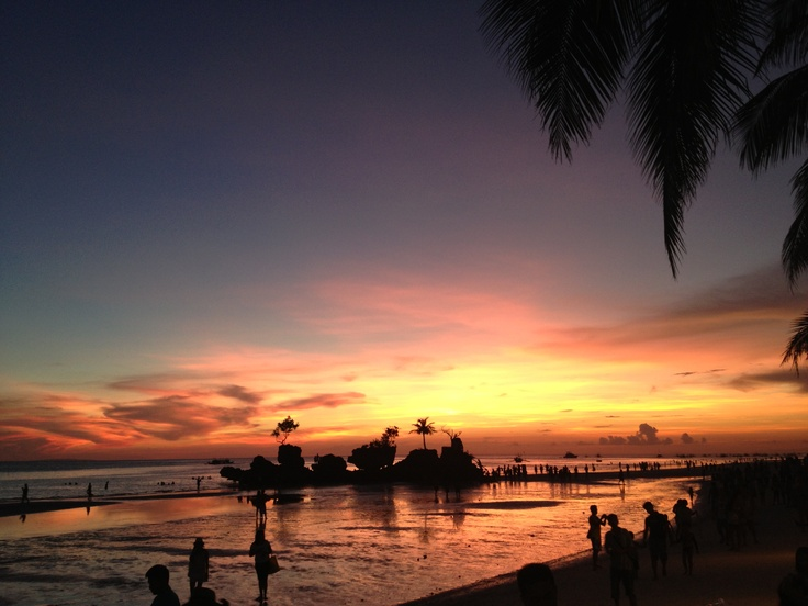 Boracay Island, Philippines - April 2013