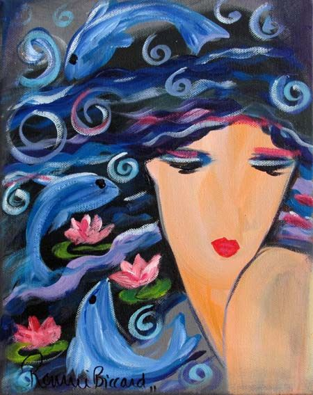 Goddess - Water by Ronnie Biccard
