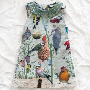max & lola bird dress. we love our feathered friends <3 @Justin Larson