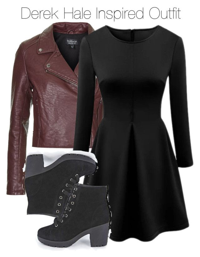 """Teen Wolf - Derek Hale Inspired Outfit"" by staystronng ❤ liked on Polyvore featuring Topshop, Boohoo, derekhale and tw"