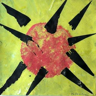 les petites têtes de lart: Le soleil a rendez-vous avec la lune rousse
