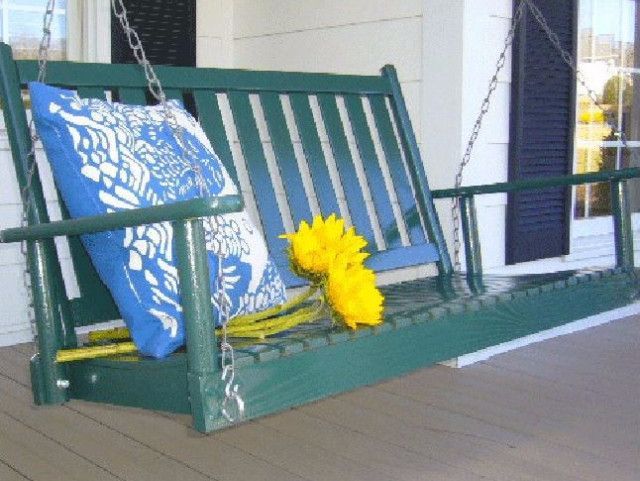 Dixie Seating Co. Asheboro 4 Foot Porch Swing