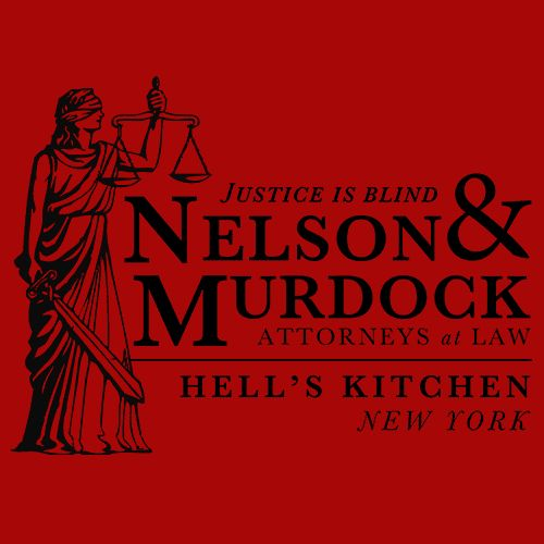 Daredevil Attorneys at Law T-Shirt from Textual Tees