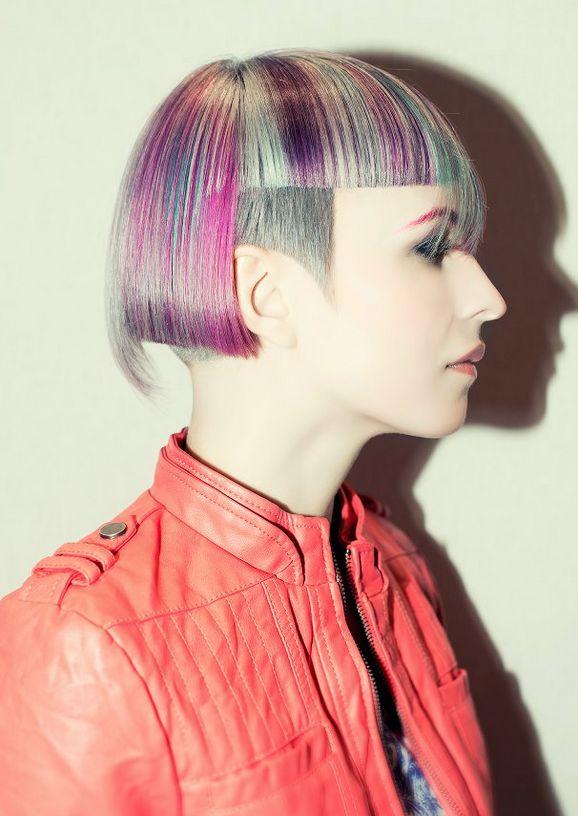 Trend: Decibel Presentation Model Hair: Nick Berardi Color: Mark DeBolt Photo: Nick Berardi