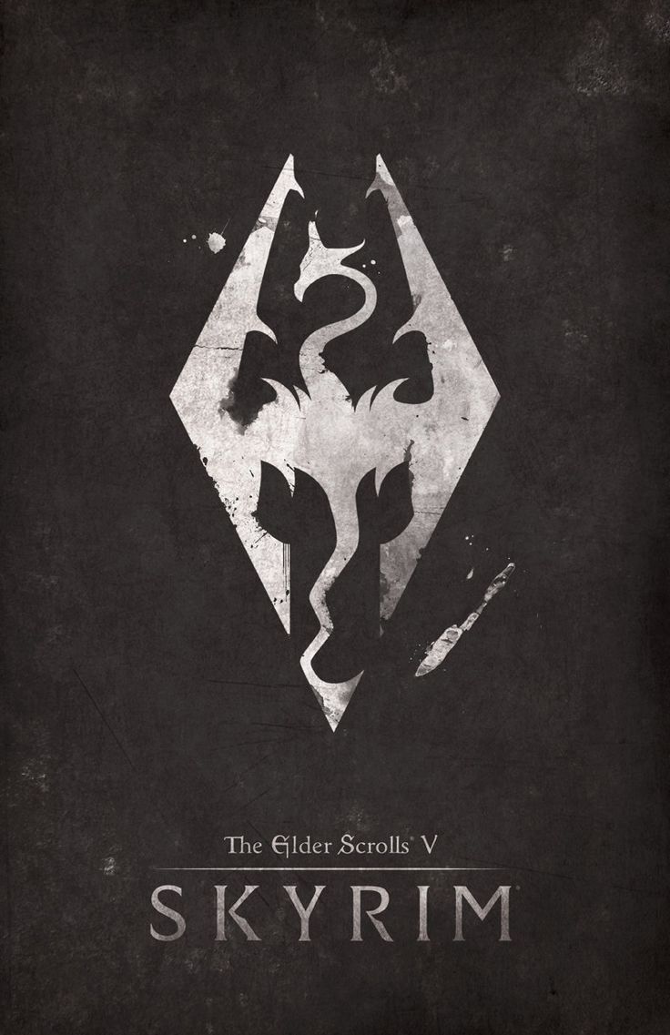 Poster design jpg - The Elder Scrolls Skyrim Posters Created By Dylan West These Posters Are Available For