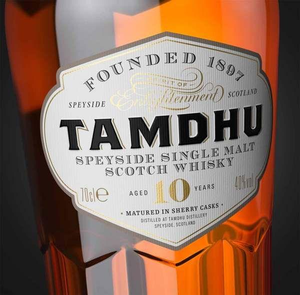 Tamdhu Single Malt Whisky by Steven Bonner, via Behance