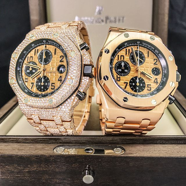 Do You Like Your Watches Iced Out Or Plain Jane Either Way They Re Amazing Dm For Pricing Luxury Watches For Men Audemars Piguet Luxury Watches