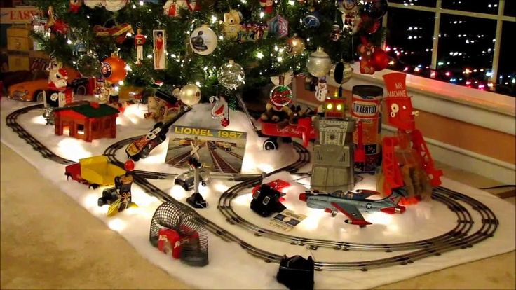 1950 Christmas Toys For Boys : Best images about trains under the tree on pinterest