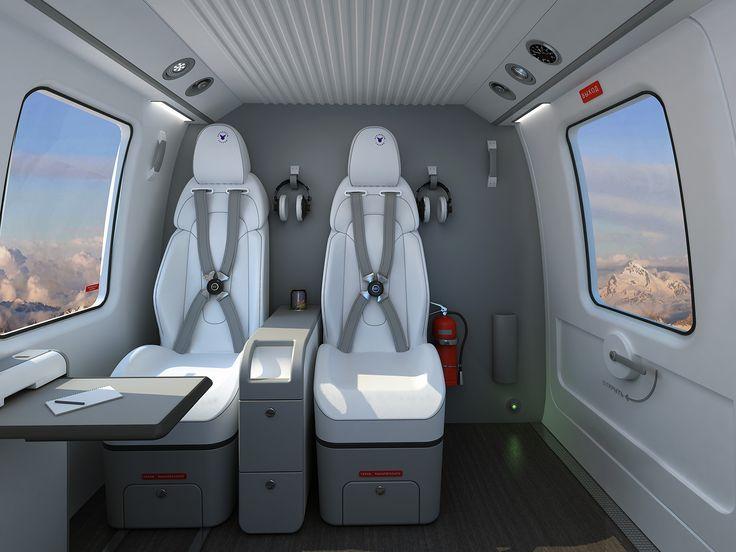 Вертолёт  Ансат. Дизайн  компании  Вемина -Авиапрестиж. Дизайнер ,-  Гарин ------------------------------  Helicopter  Ansat.  Design Vemina. Russia  Moskow. Designer,- Garin
