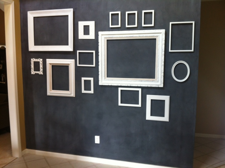 Entry Way Wall Chalkboard Paint New House Pinterest